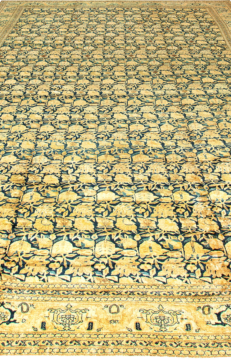 Antique Persian Tabriz Carpet BB6690