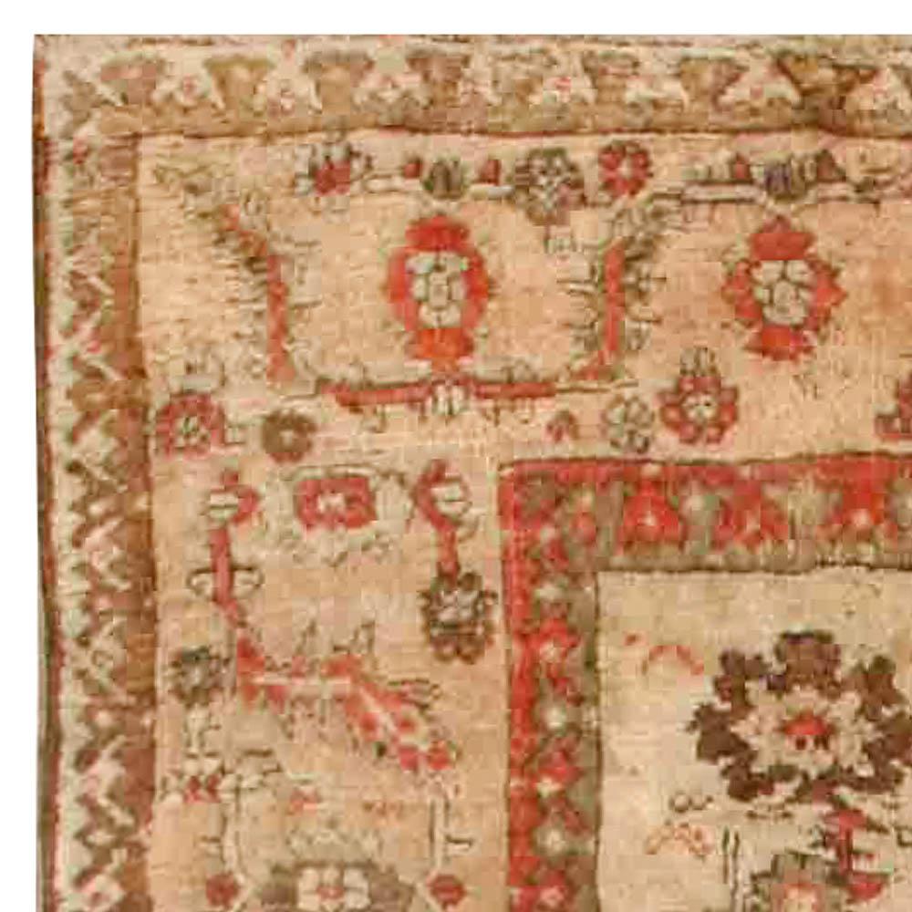 Antique Turkish Ghiordes Carpet BB6736
