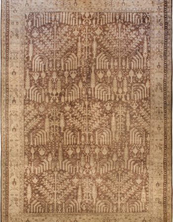 Large Antique Turkish Oushak Rug BB6730