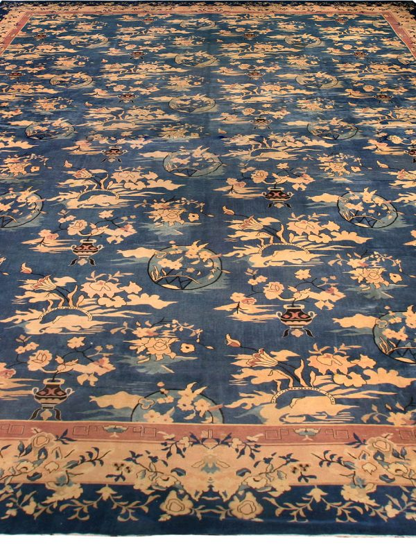 Vintage Chinese Carpet BB6697