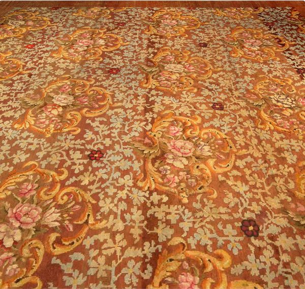 Antique Savonnerie Rug BB6679