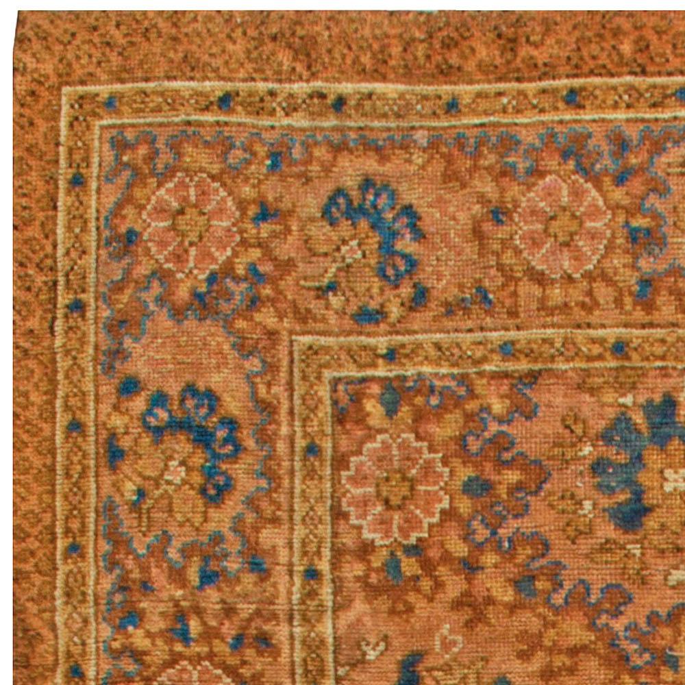 Antique English Axminster Carpet Bb6809 By Dlb