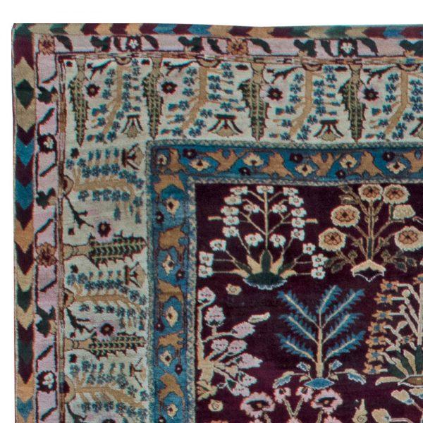 Antique Indian Amritsar Rug BB6856