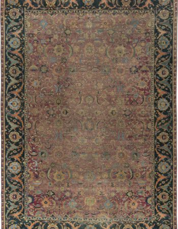 Antique Esfahan Rug BB6480