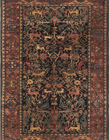 ANTIQUE PERSIAN FERAGHAN RUG BB6631