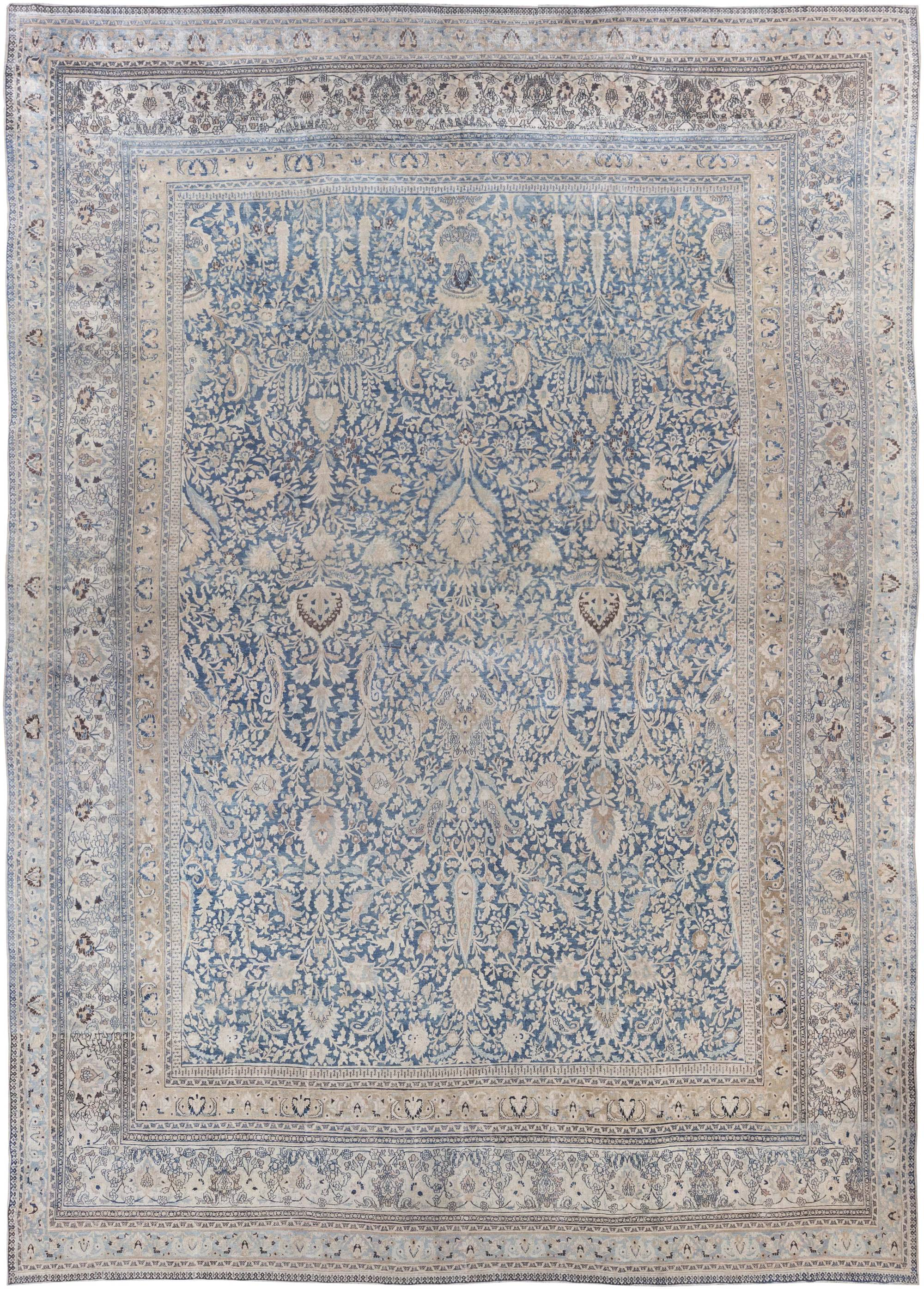 Oversized Blue Persian Rug