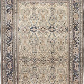 Antique Persian Khorassan Hand Knotted Wool Rug BB6588