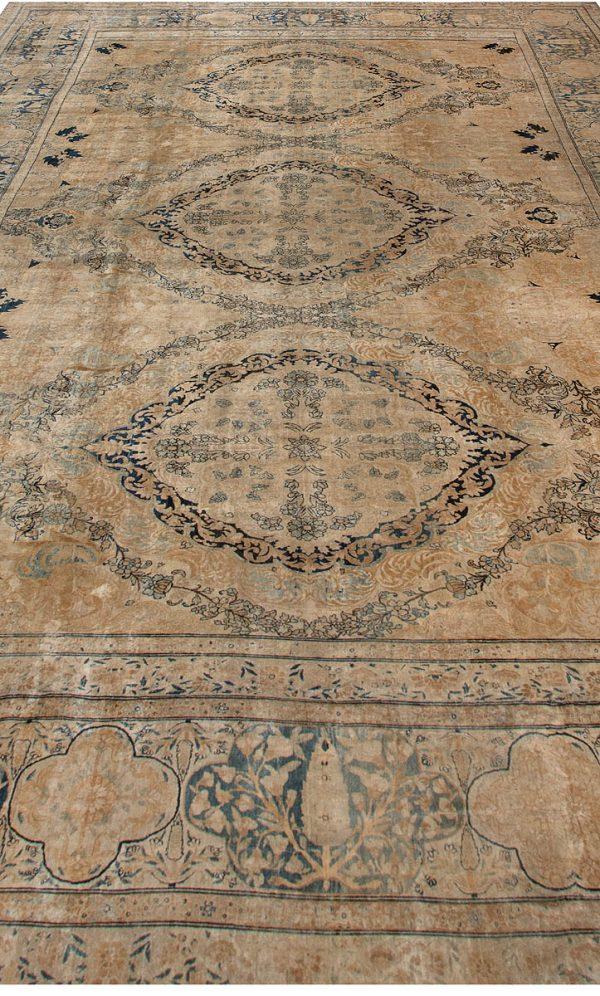 Antique Persian Kirman Tapete BB6717