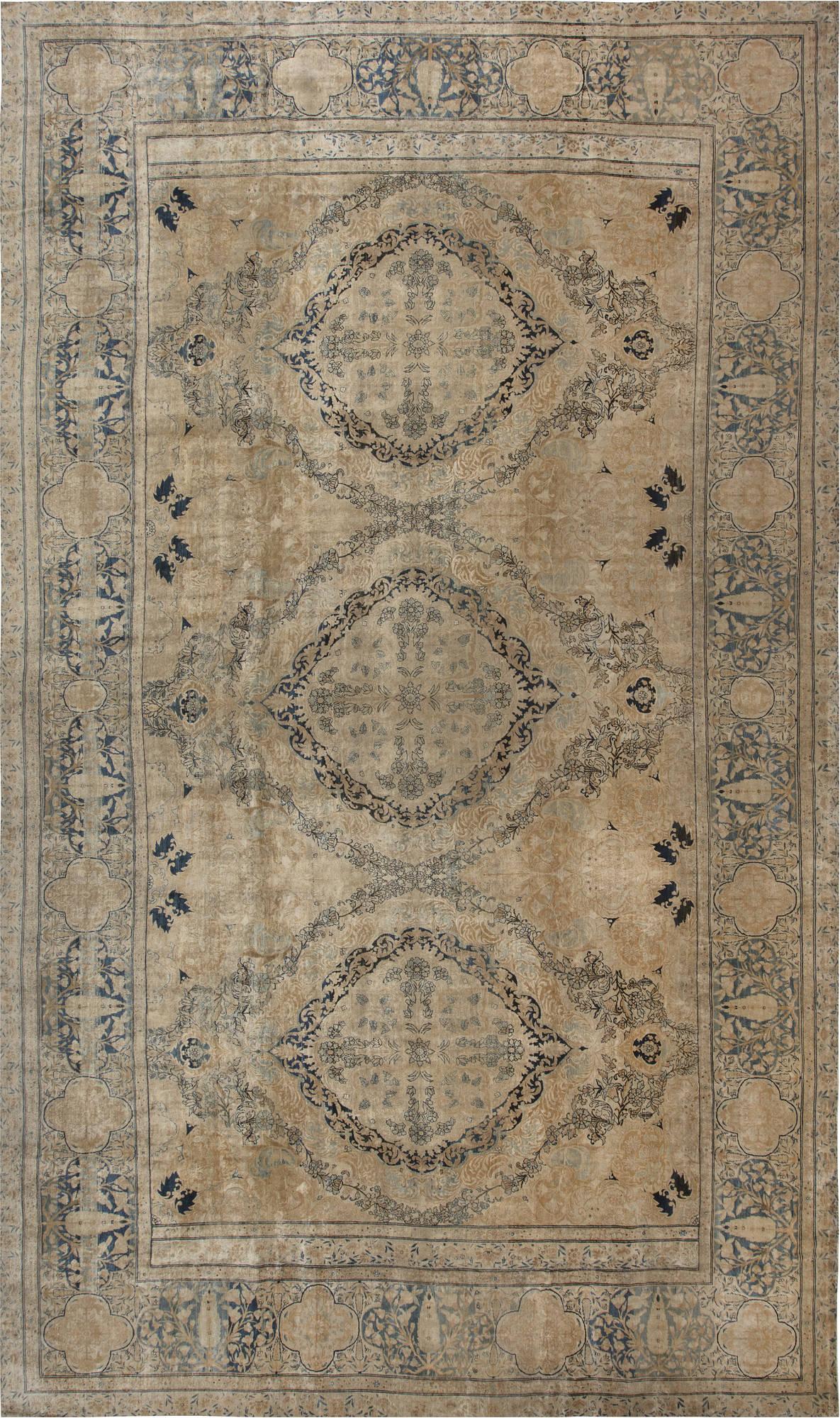 Antique Persian Kirman Carpet BB6717
