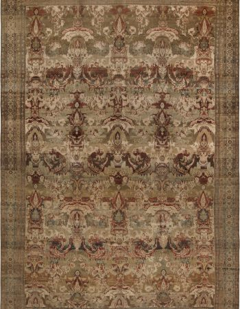 Antique Persian Malayer Rug BB6760