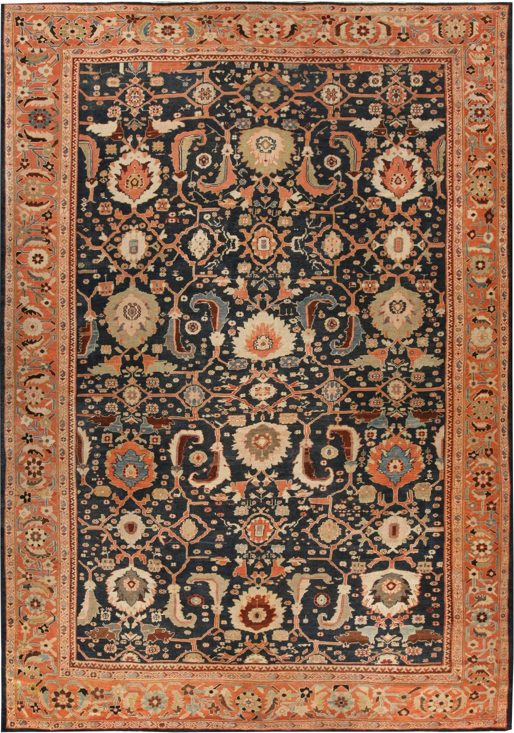 Antique Persian Sultanabad Rug BB6728
