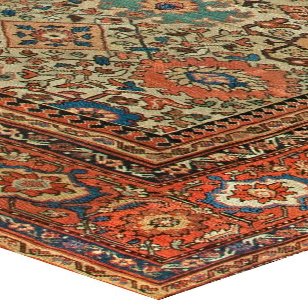 Sultanabad Antique Rug BB6825