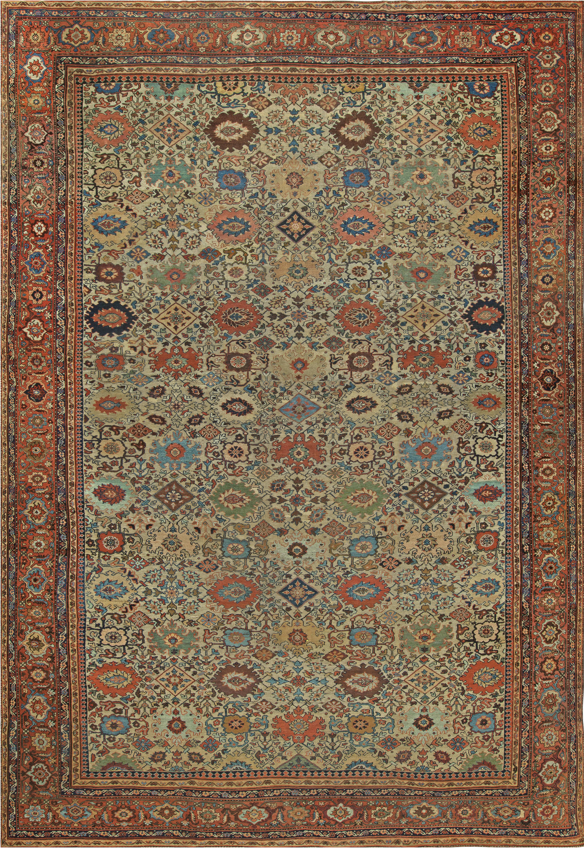 sultanabad antique rug bb6825doris leslie blau Antique Rugs