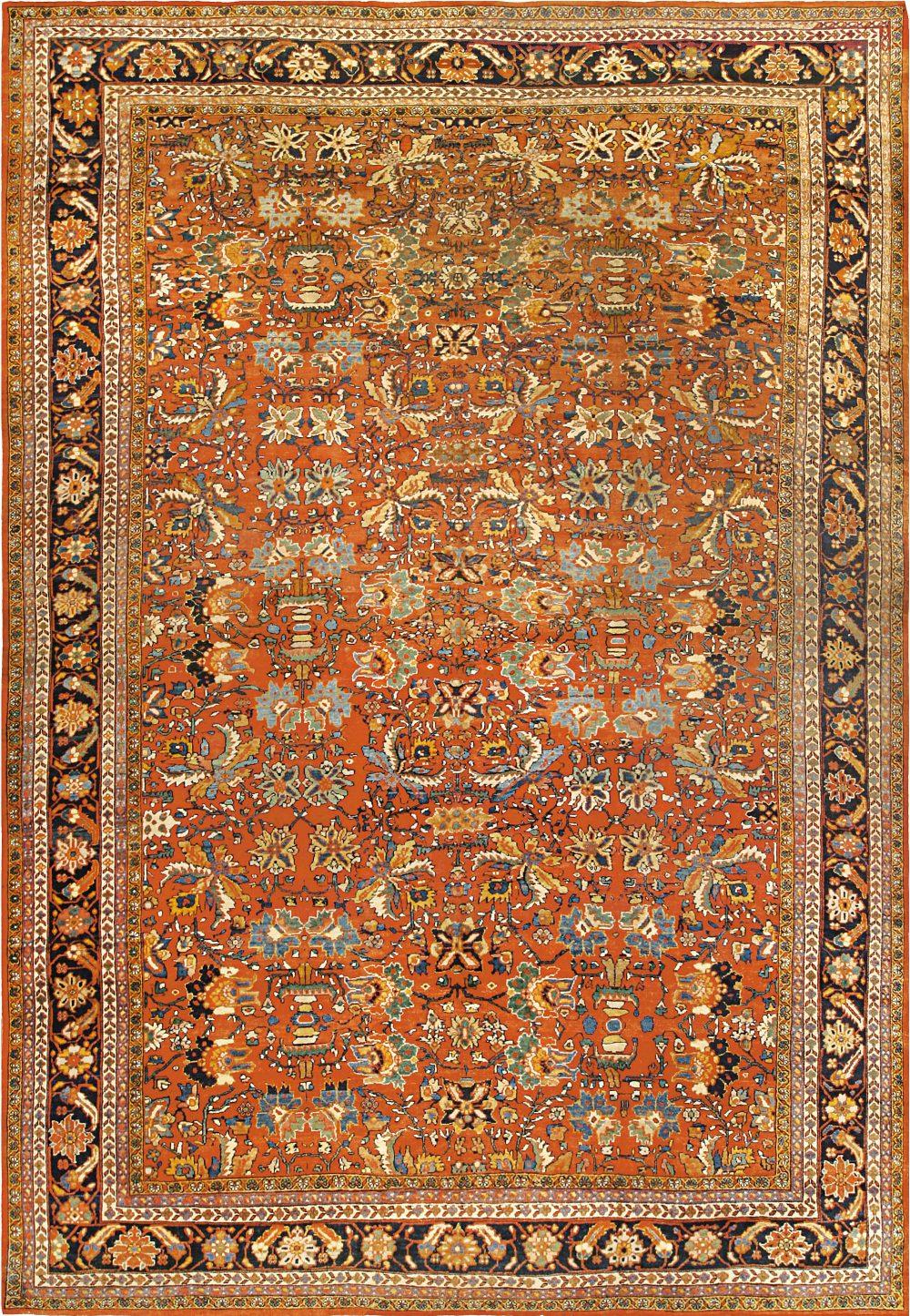 Vintage Persian Sultanabad Rug BB6762