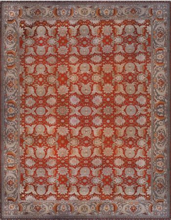 Antique Turkish Hereke Carpet BB6684