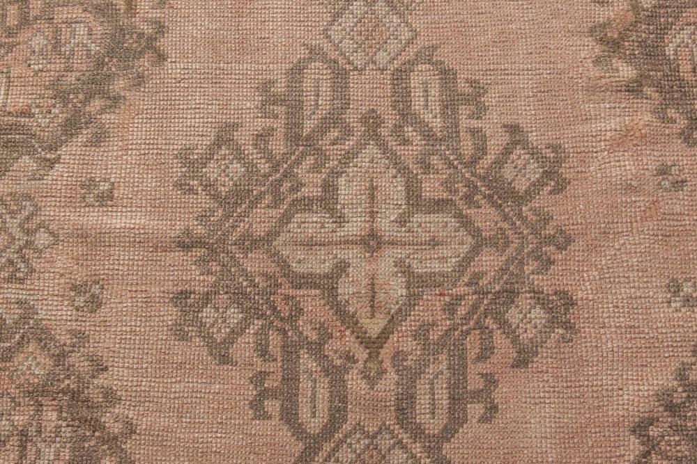 Antique Turkish Oushak Rug BB6836