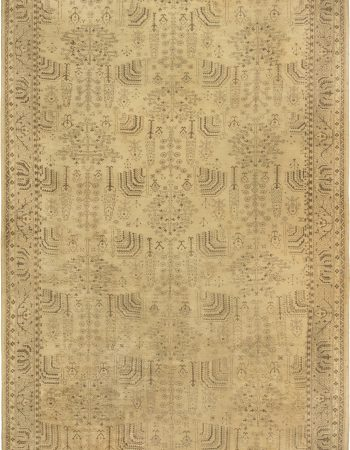Turkish Oushak Rug BB6851