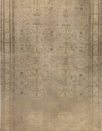 Antique Turkish Oushak Rug BB6864