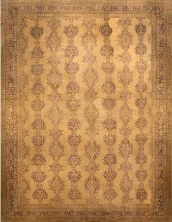 Oversized Antique Turkish Oushak Rug BB6722