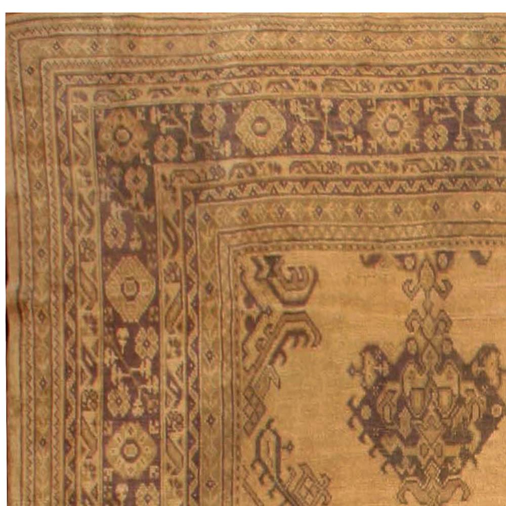 Oversized Antique Turkish Oushak Rug BB6722