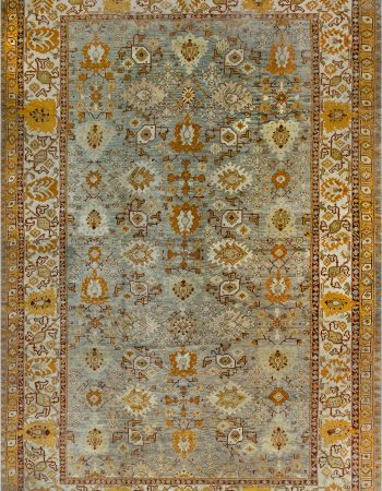 Antique Turkish Oushak Rug (Size Adjusted) BB7140