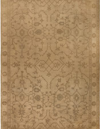 Oversized Antique Turkish Oushak Rug BB6785