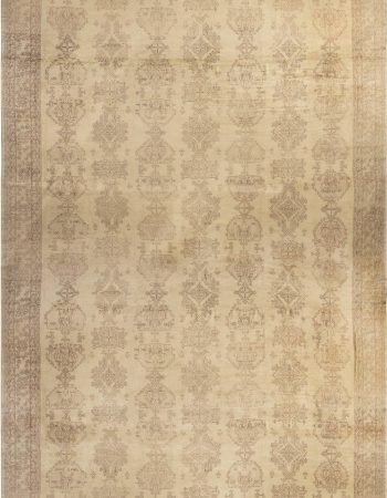 Oversized Antique Turkish Oushak Carpet BB6805