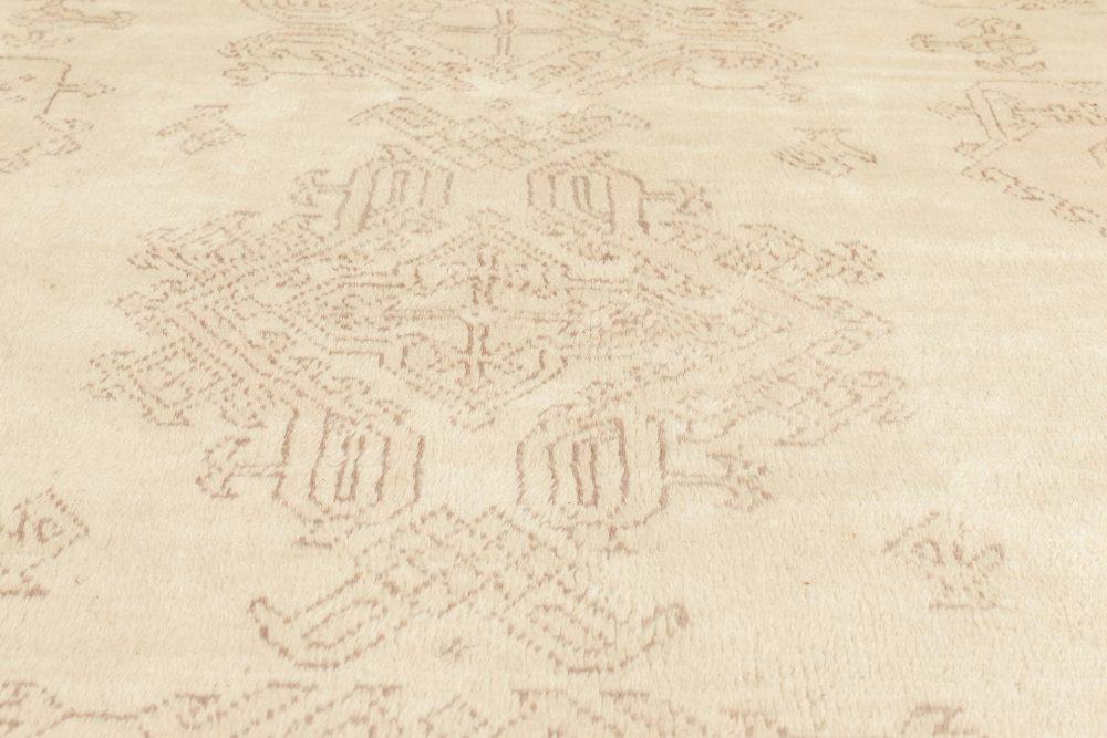 Oversized Antique Turkish Oushak Carpet BB6805