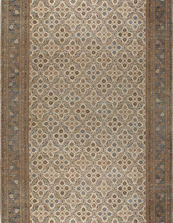 Übergroße Vintage Indische Amristar Teppich (Größe angepasst) BB6795
