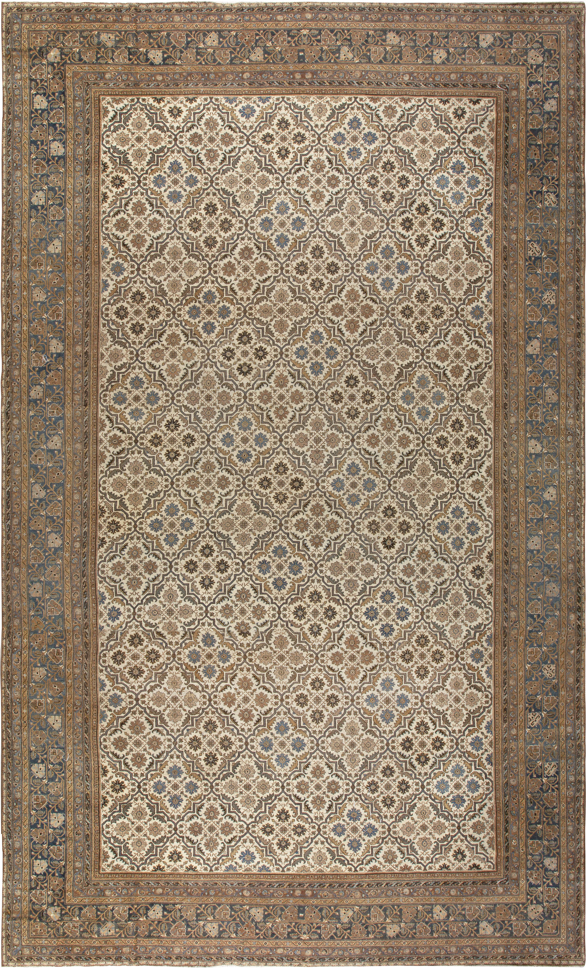 Oversized Vintage Indian Amristar Rug ( size adjusted) BB6795