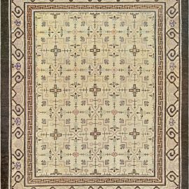 Vintage Samarkand Rug BB6796