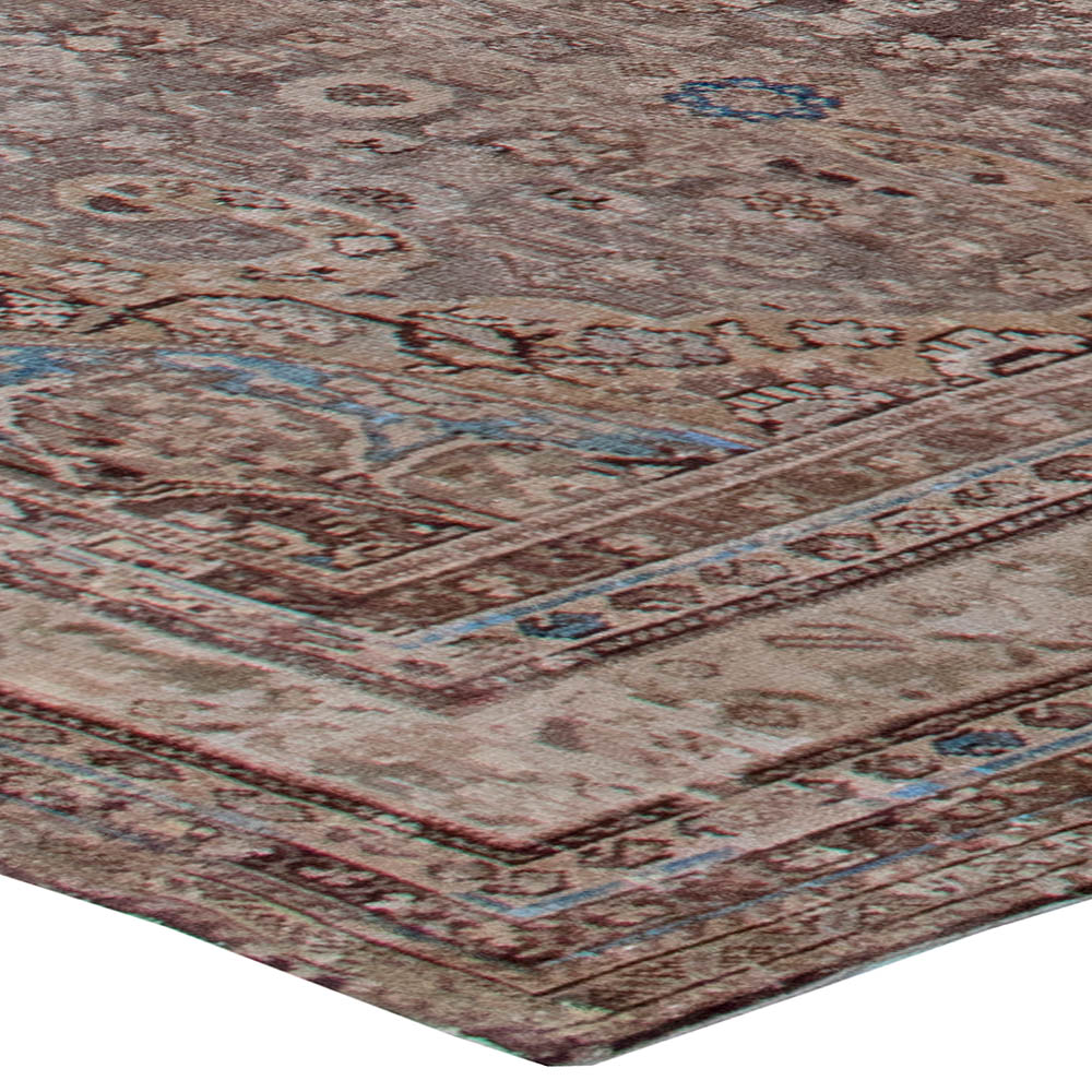 Antique Persian Malayer Rug BB6774