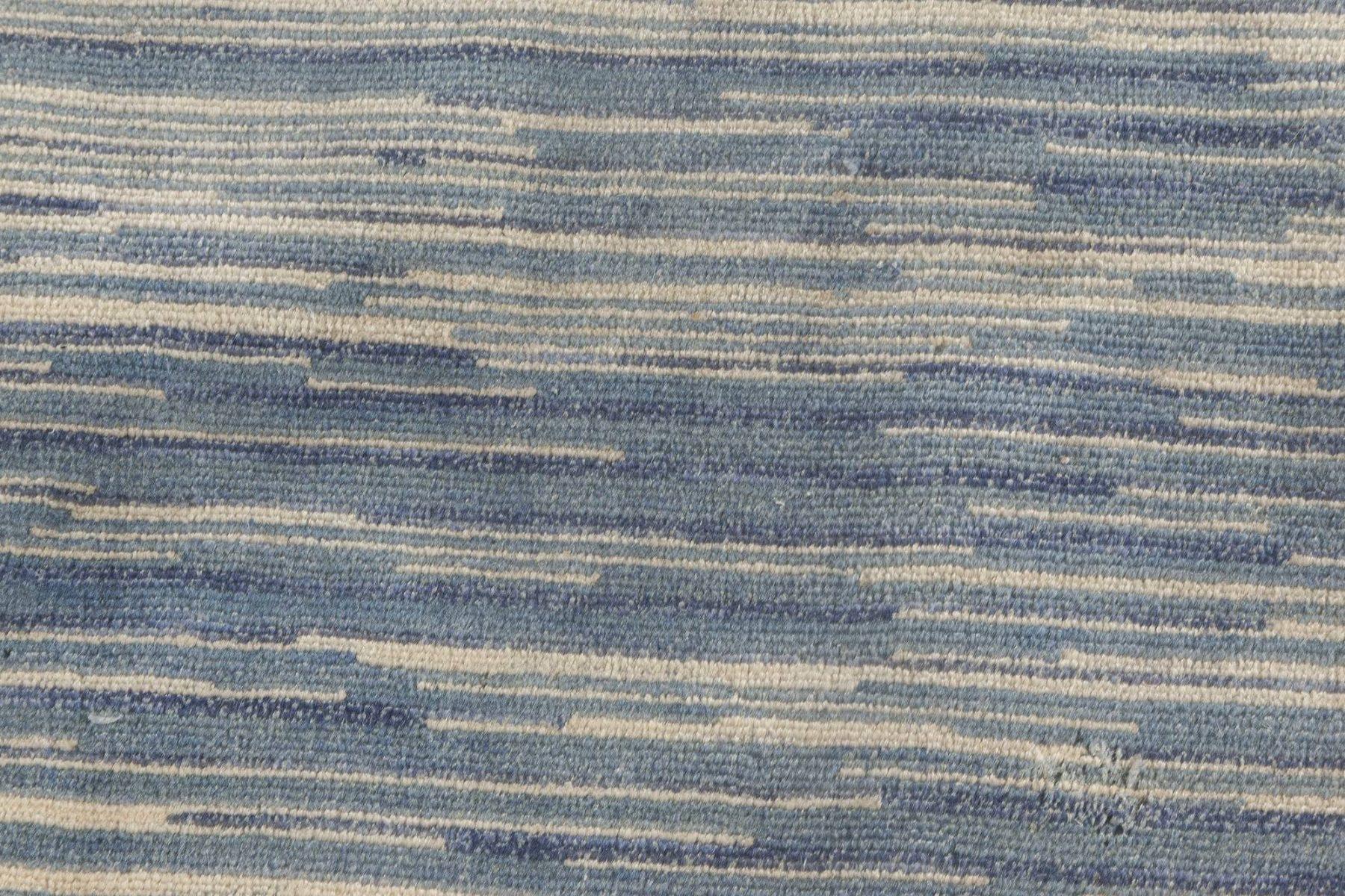 Blue Modern Rug N11813