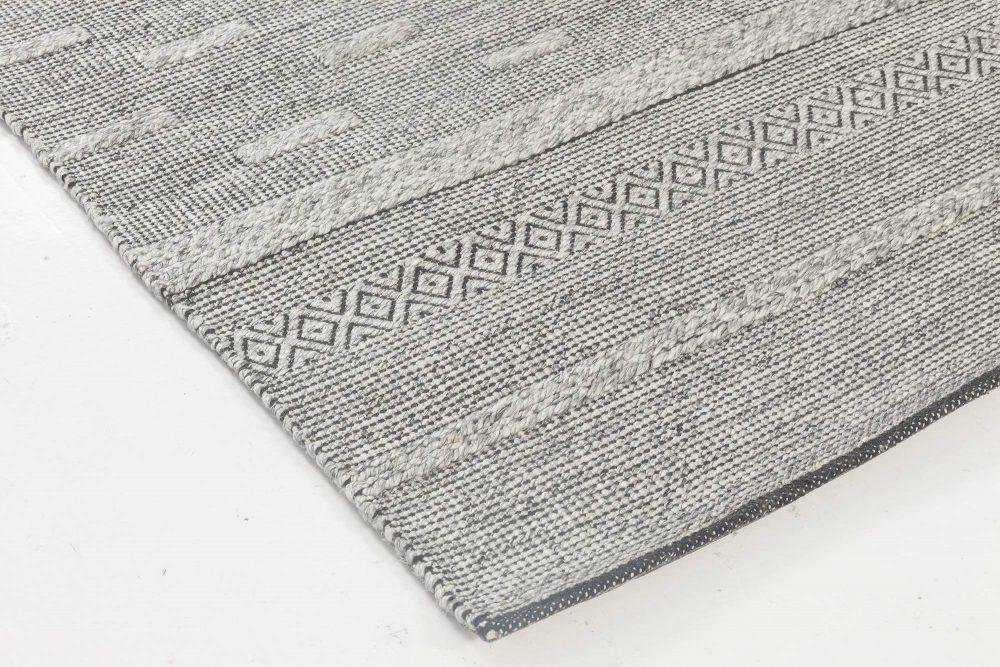 Bauer Collection Geometric Grey Rug II N11837