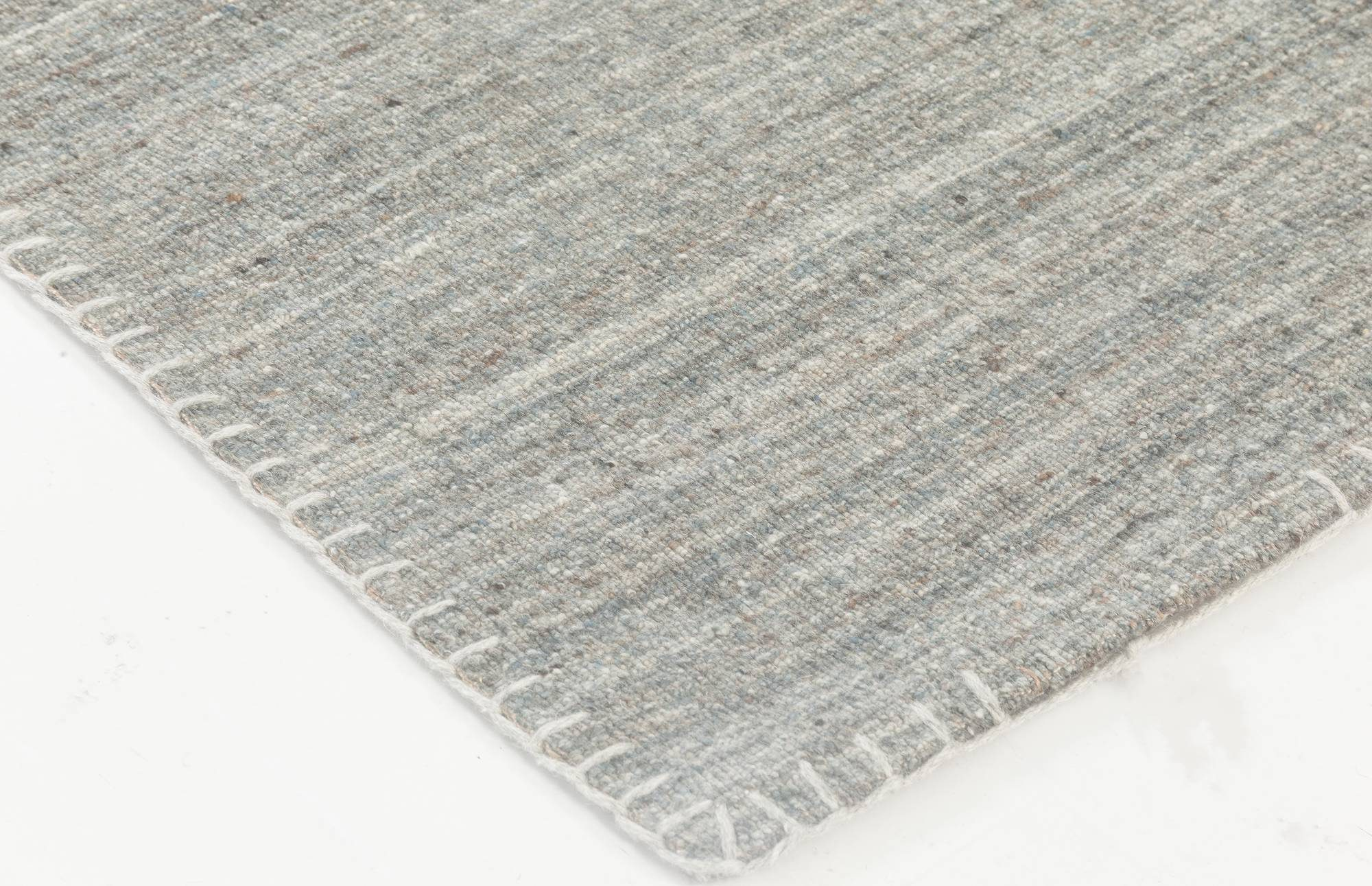 New Bauer Collection Patternless Gray Rug II N11840