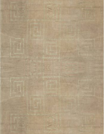GREEK KEY Geometric Carpet N11798