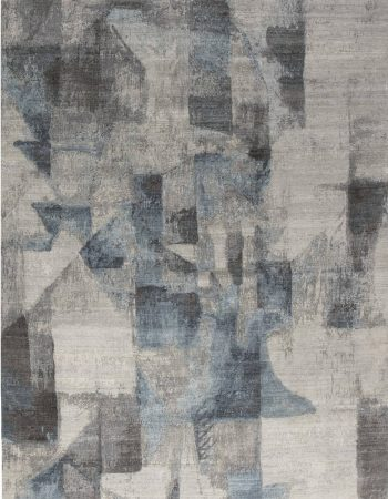 Modern Grey Braque Rug N11755