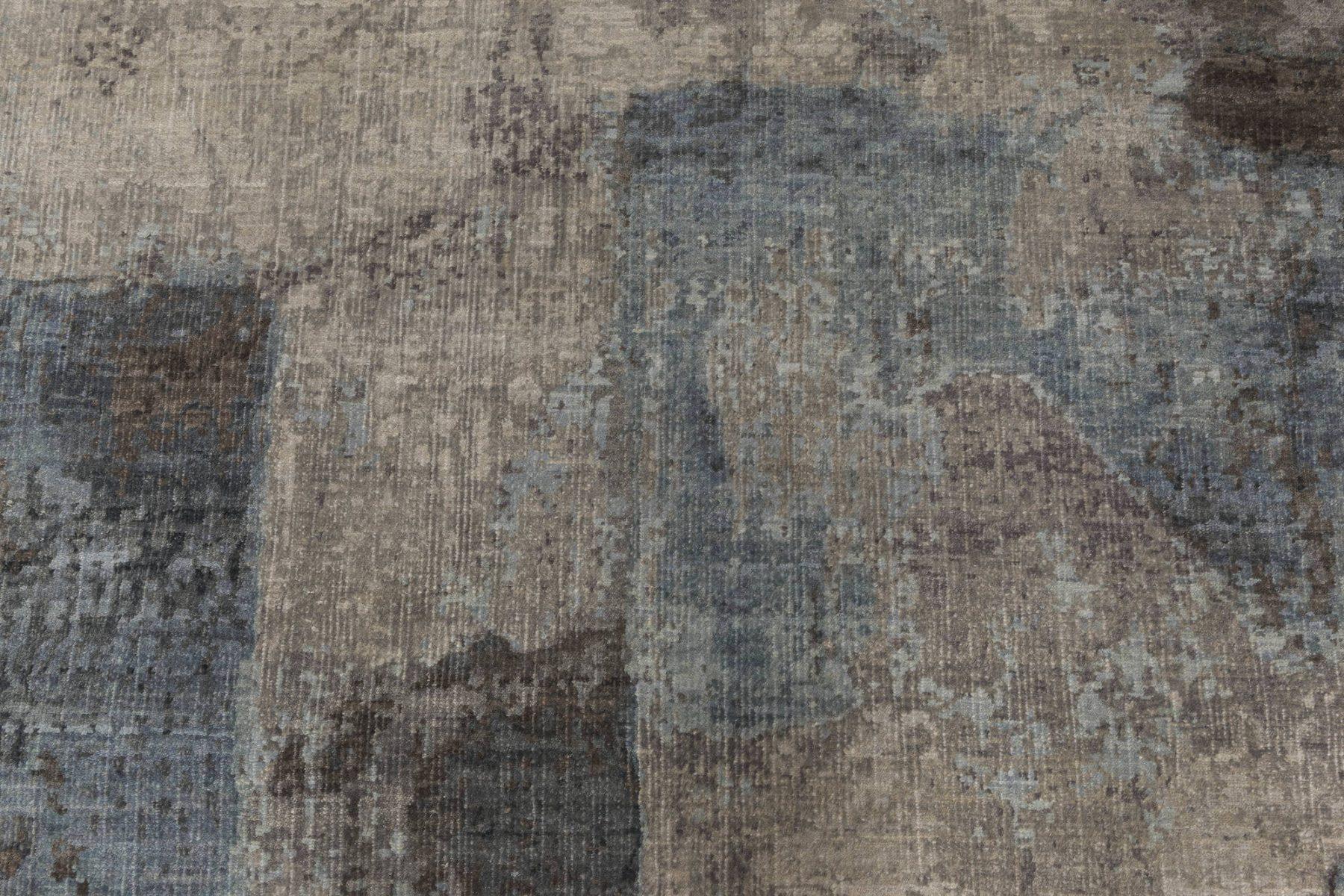 Modern Grey Braque Rug N12120