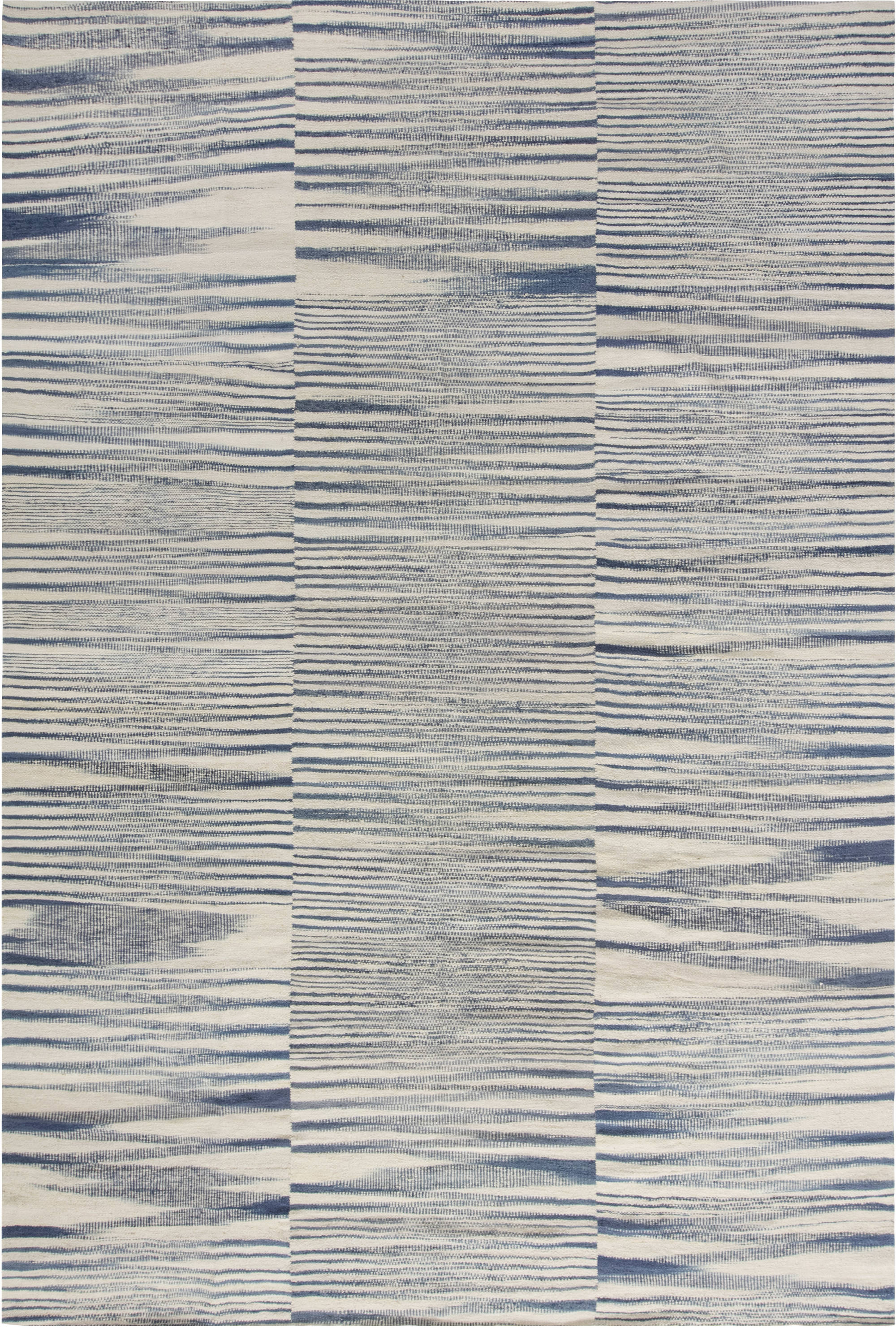 CONTEMPORARY FLAT WEAVE RUG N11786