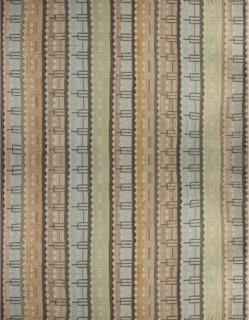 OVER-SIZED  SWEDISH DESIGN MODERN AREA RUG N11807