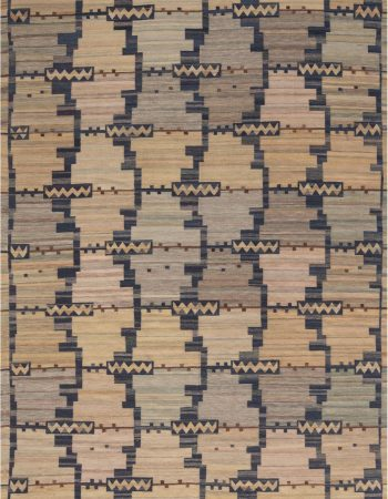 Swedish Design Flat Weave Rug N11774