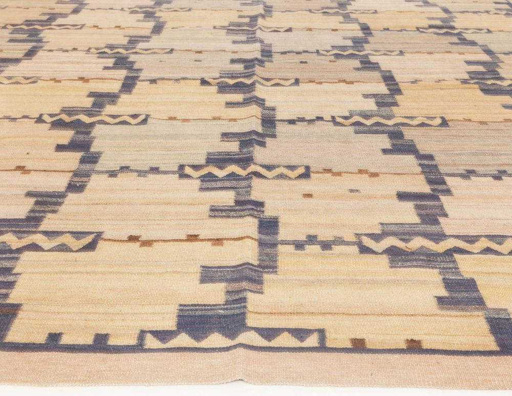 Swedish Design Flat Weave Rug N11774