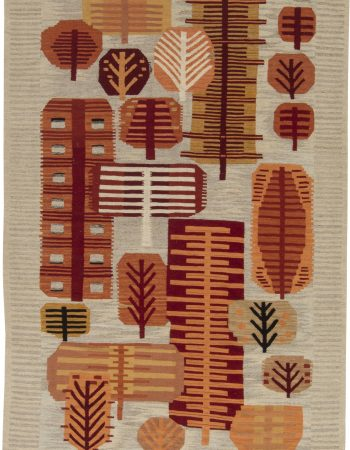 SWEDISH DESIGN FLAT WEAVE RUG N11624
