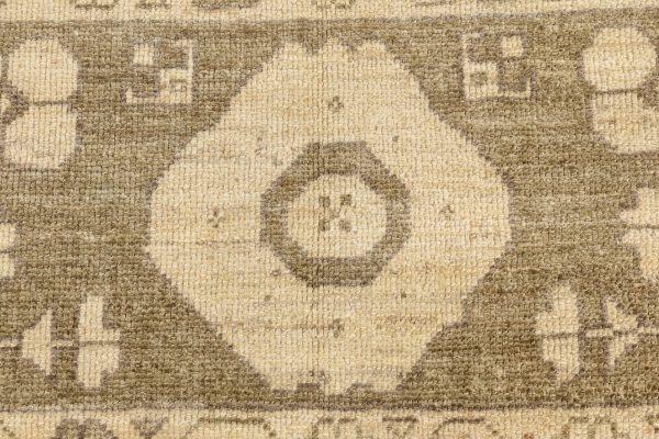 Tapete Oushak contemporâneo de grandes dimensões. N11826