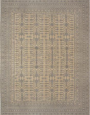 New Inspired Samarkand Rug N12152