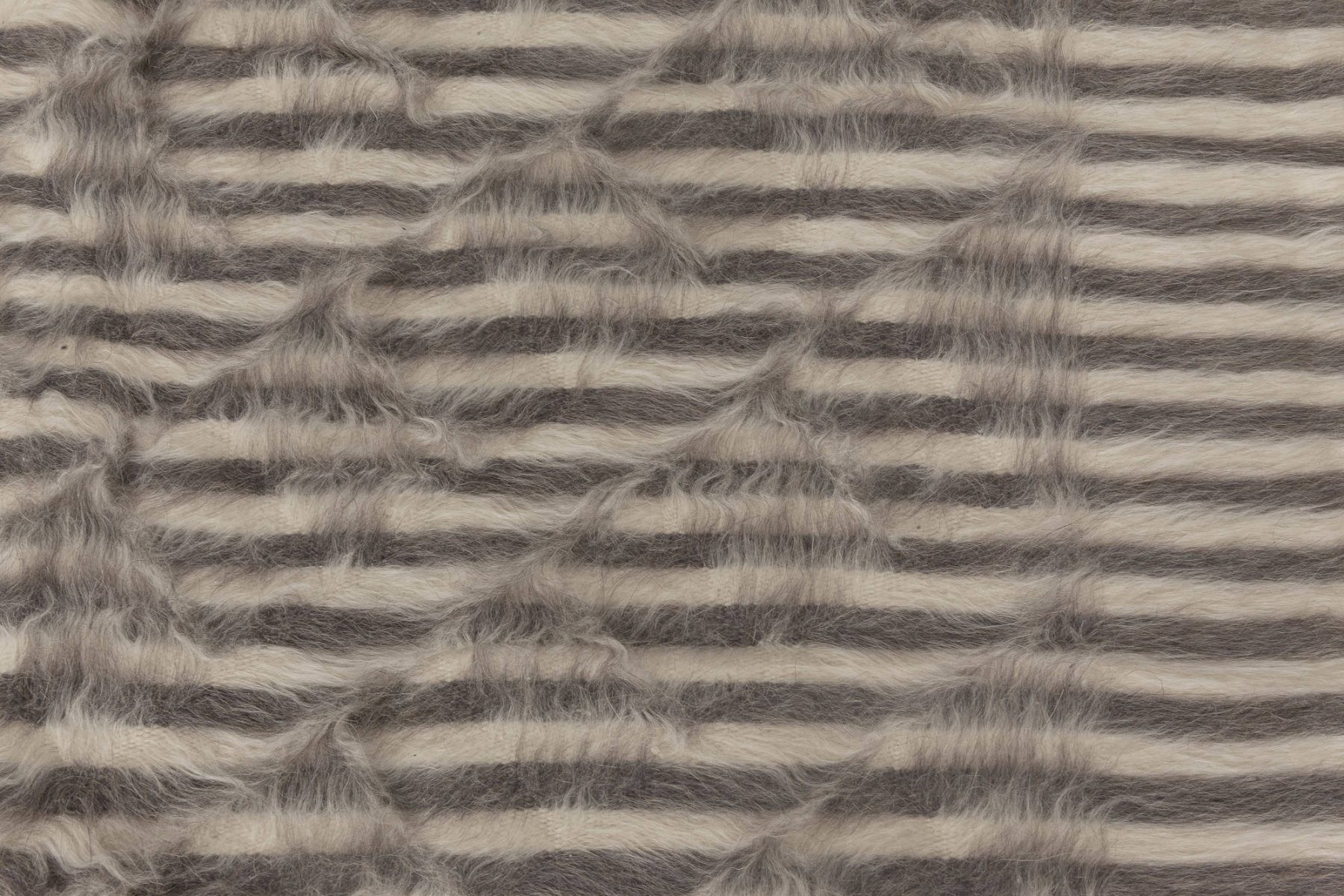 Taurus Collection Beige & Brown Hand Knotted of the Finest Goat Hair N11463