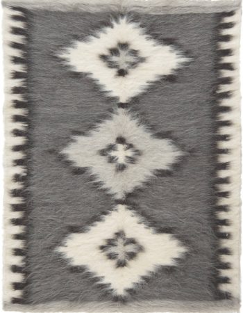 Stamverband II Geometric Gray and White Carpet N11828