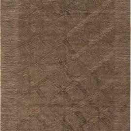 New Taurus Collection Brown Geometric Rug N11456