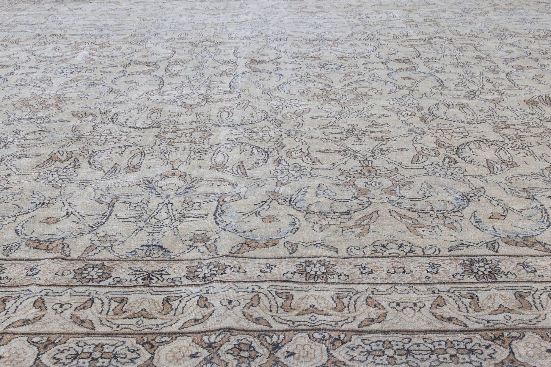 Antique Persian Kirman Carpet BB6817
