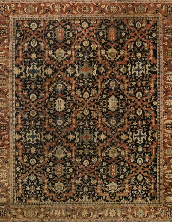 Vintage Persian Sultanabad Carpet BB6673